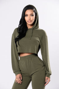 Comfy and Cozy Top - Olive Angle 3