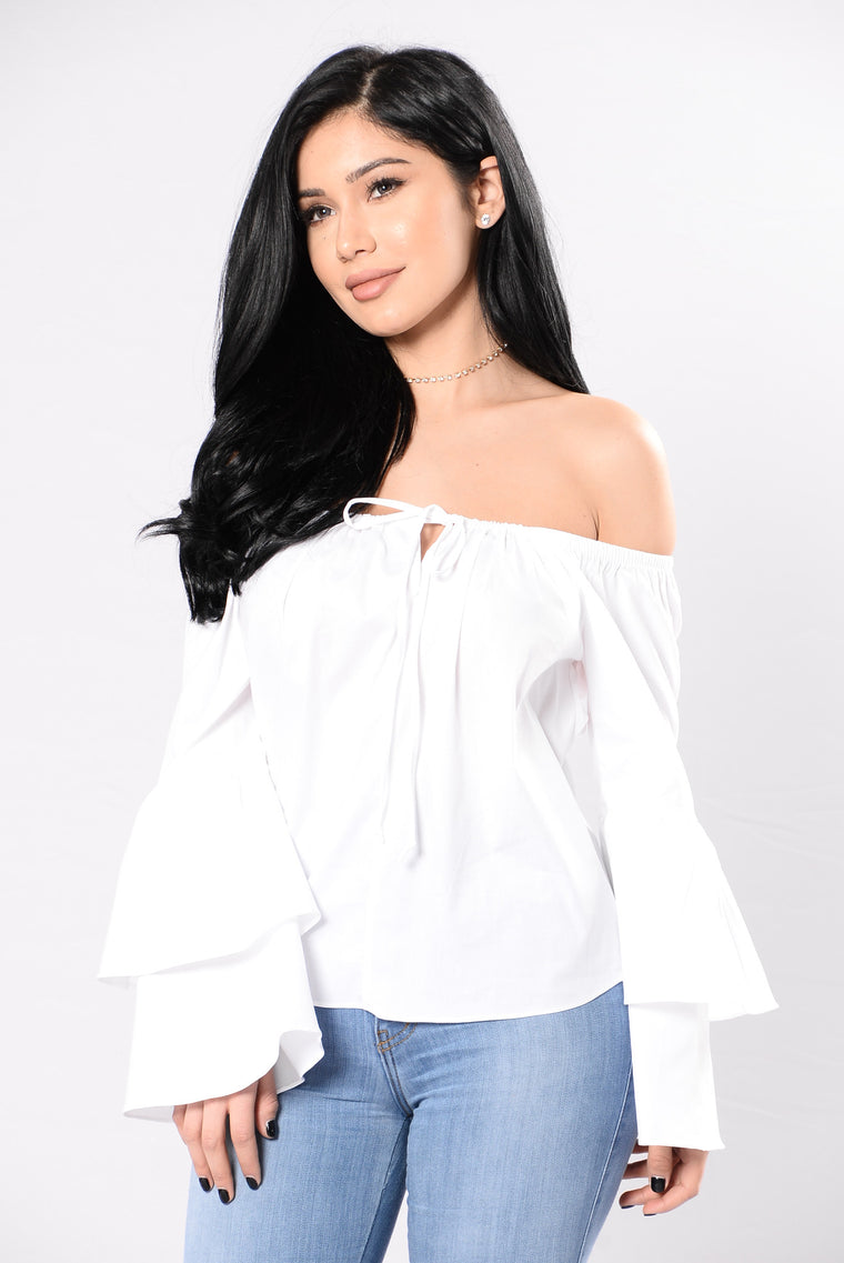 Four Seasons Top - White