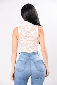 All The Grace Bodysuit - Ivory