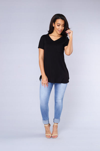 Playdate Tee - Black