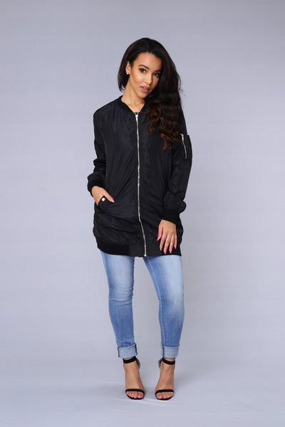 All Eyes On Me Jacket - Black