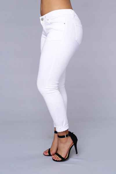 Total Request Jeans - White