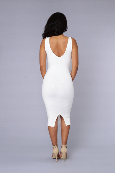 Evermore Dress - Ivory
