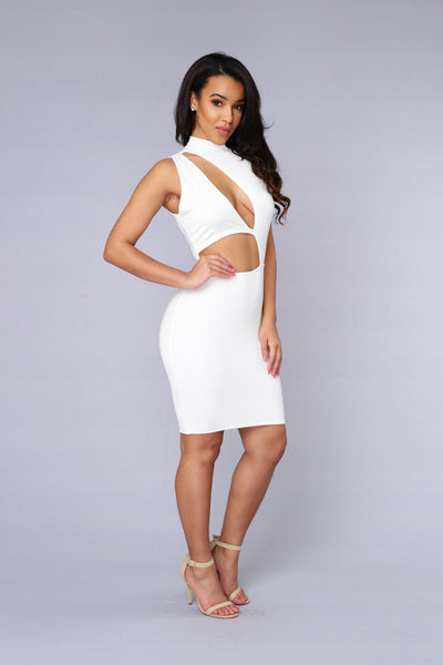 On the Scene Dress - Ivory