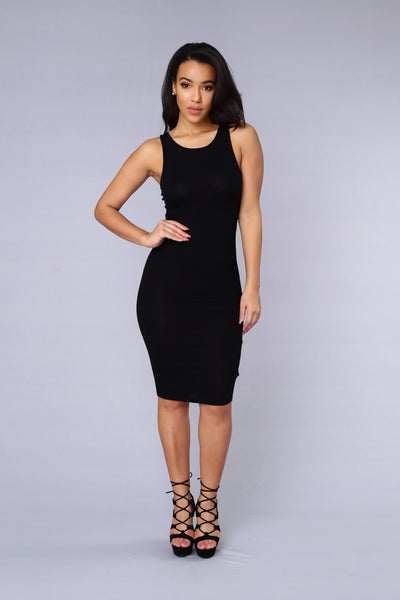 Taken Dress - Black