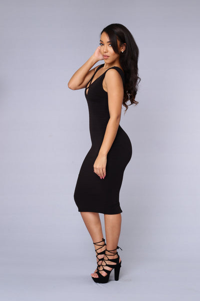 Evermore Dress - Black