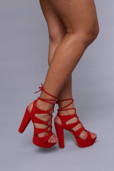 New Heights Heel - Red