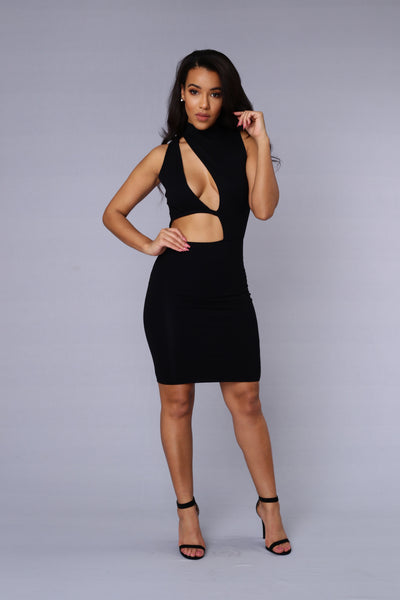 On the Scene Dress - Black