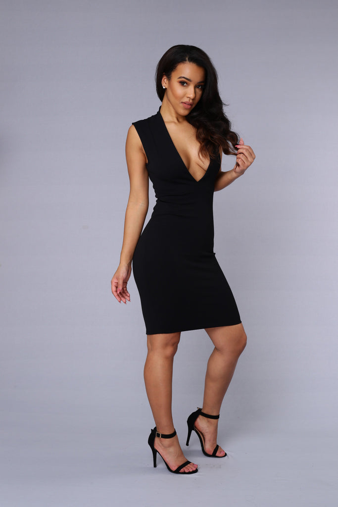 State of Affair Dress - Black