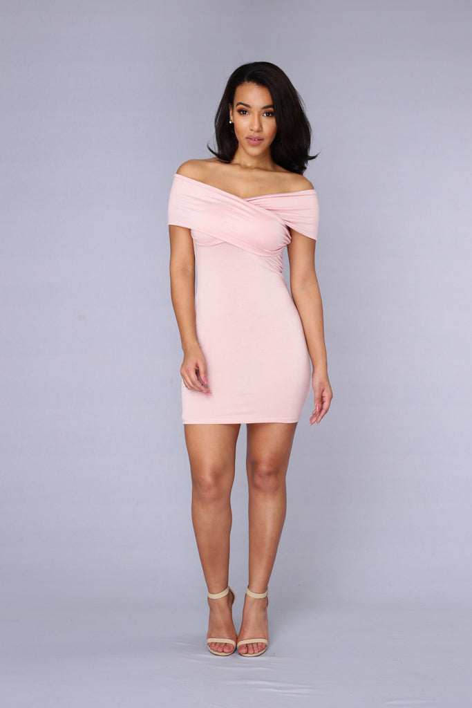 Demi Dress - Blush