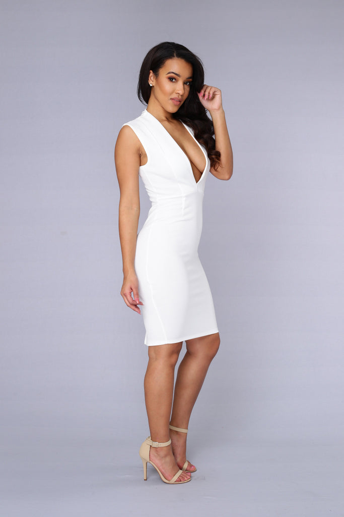 State of Affair Dress - Ivory
