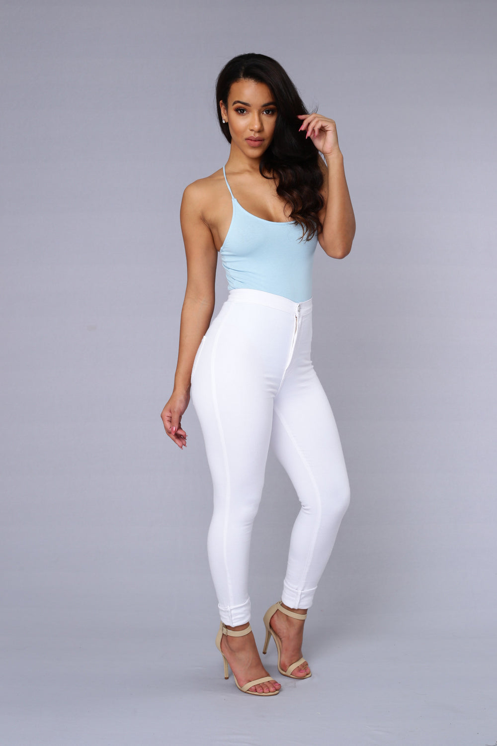 Wishful Thinking Bodysuit - Blue