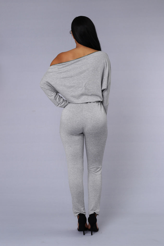 Fallout Jumpsuit - Heather Grey
