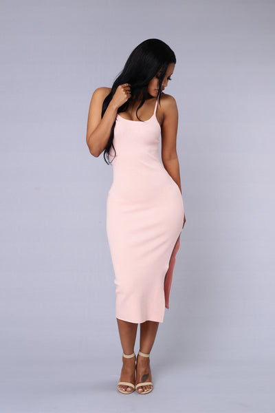 Smooth Talker Dress - Blush