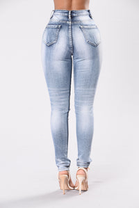 No Lies No Wrongs Jeans - Blue