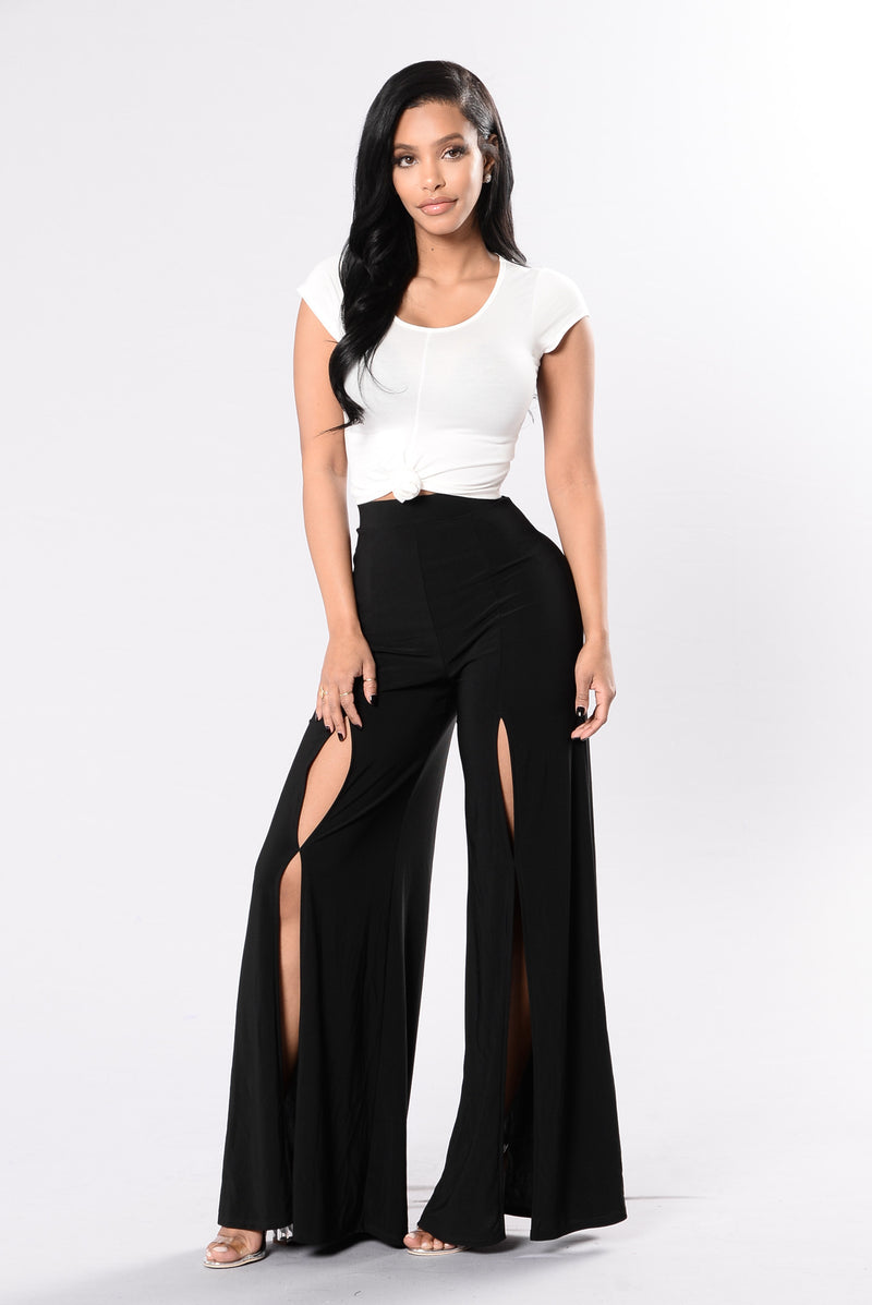 Tangled In The Willows Pants - Black
