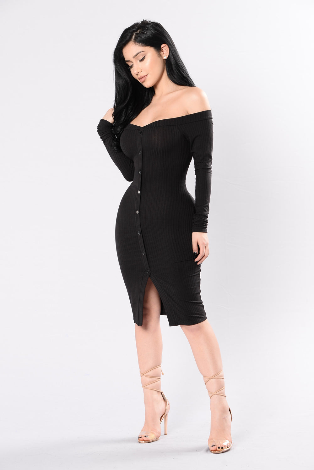 One Moment Dress - Black