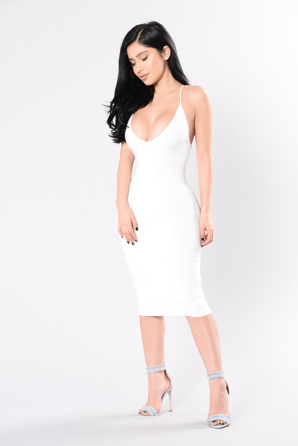 Simple Kind Of Life Dress - White