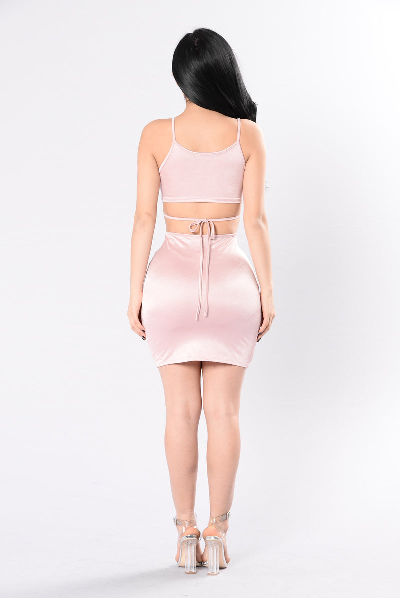 Be My Senorita Dress - Dusty Pink