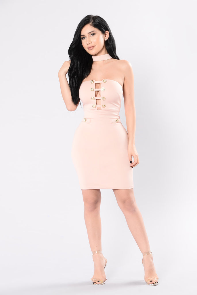 Talya Dress - Blush