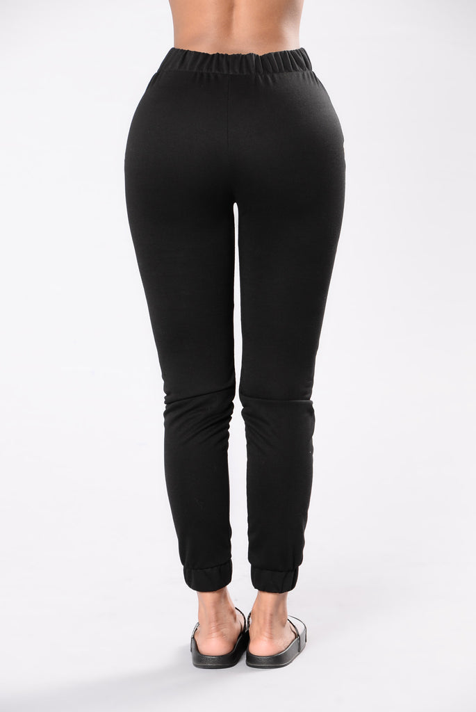 Shortie Like Mine Bottom - Black