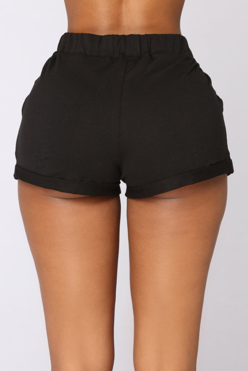Kassidy Roll Up Shorts - Black