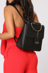 Back It Up Backpack - Black