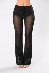 This Is Your Night Pants - Black