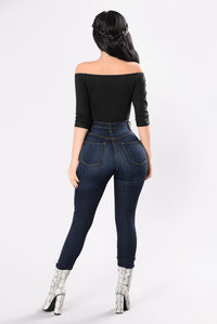 Complicated Lover Bodysuit - Black