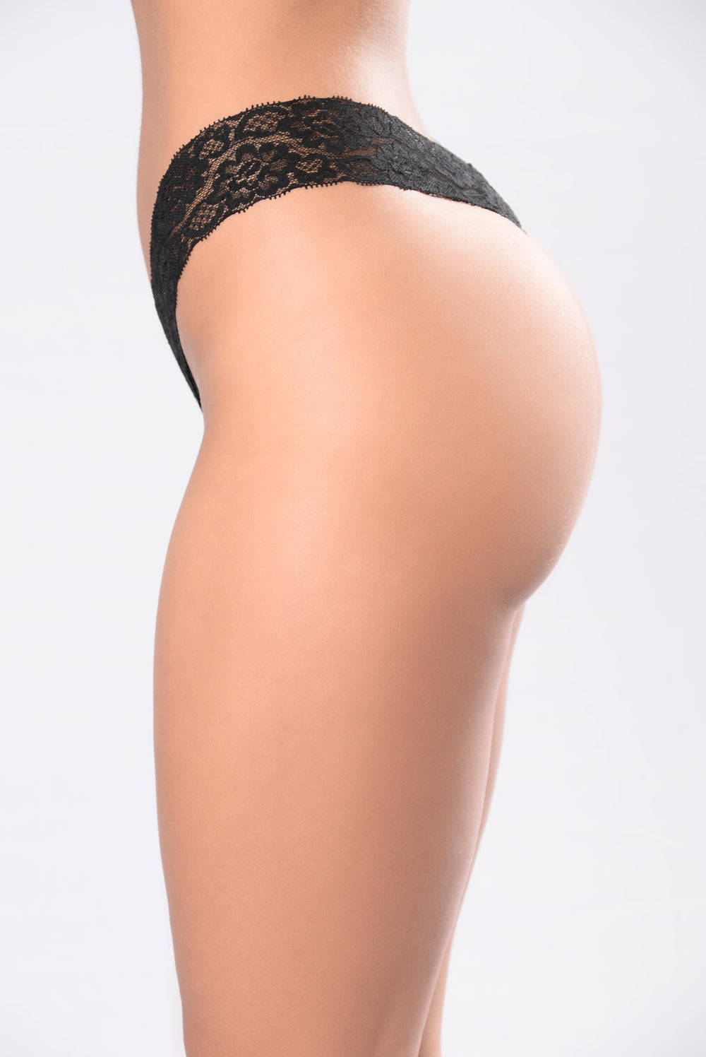 Ladies Only Thong - Black