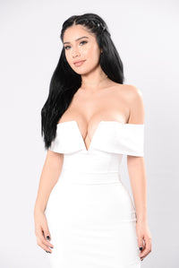 Don't Even Get Started Dress - Ivory