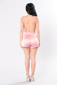 Special Delivery Romper - Mauve