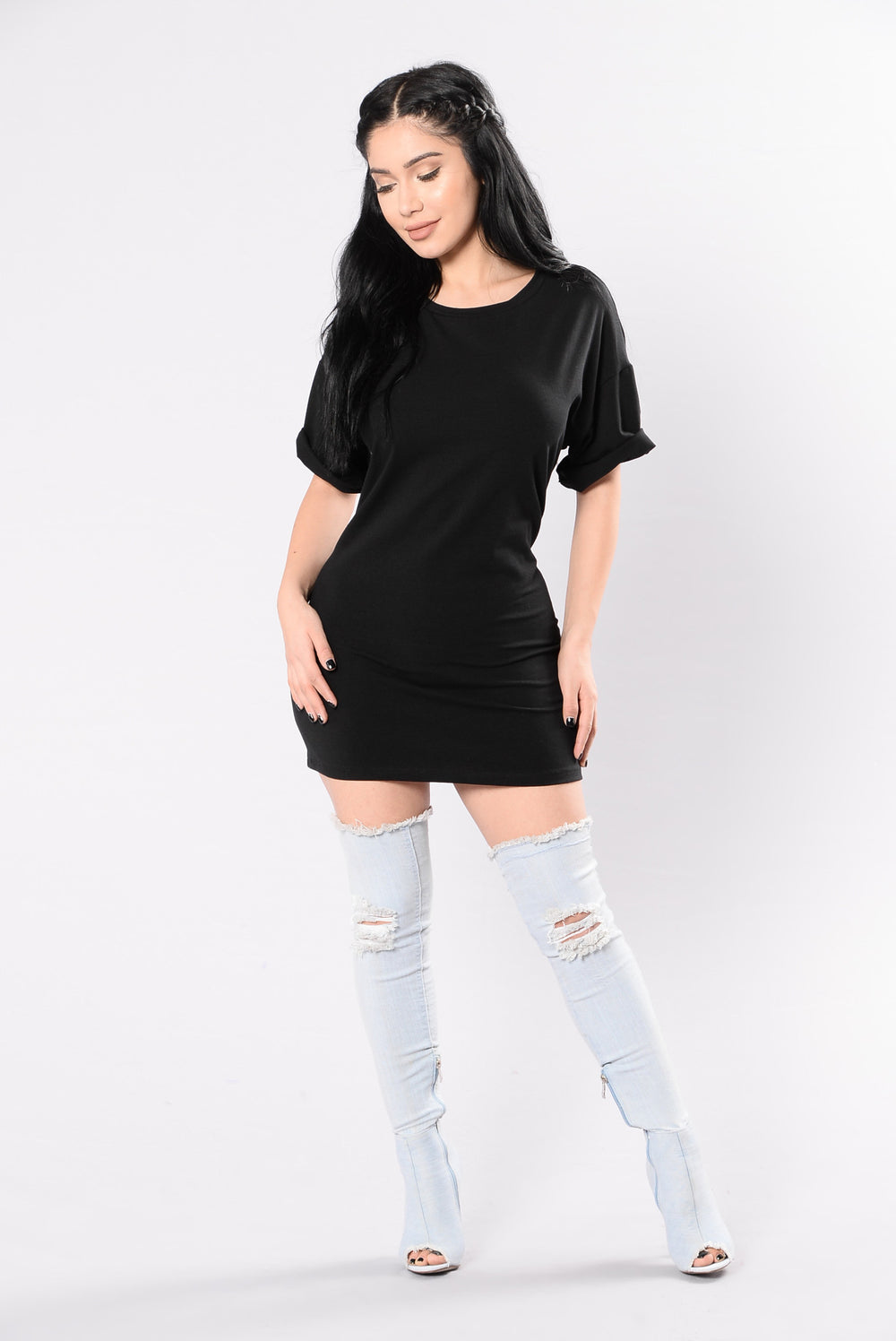 Misunderstood Tunic - Black