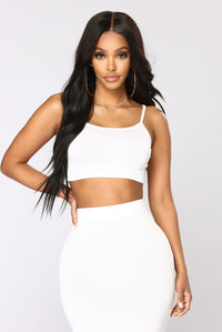 No Manners Skirt Set - White Angle 2