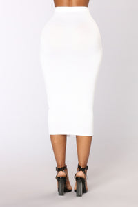 No Manners Skirt Set - White Angle 5
