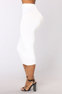 No Manners Skirt Set - White Angle 6