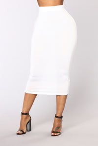 No Manners Skirt Set - White Angle 7