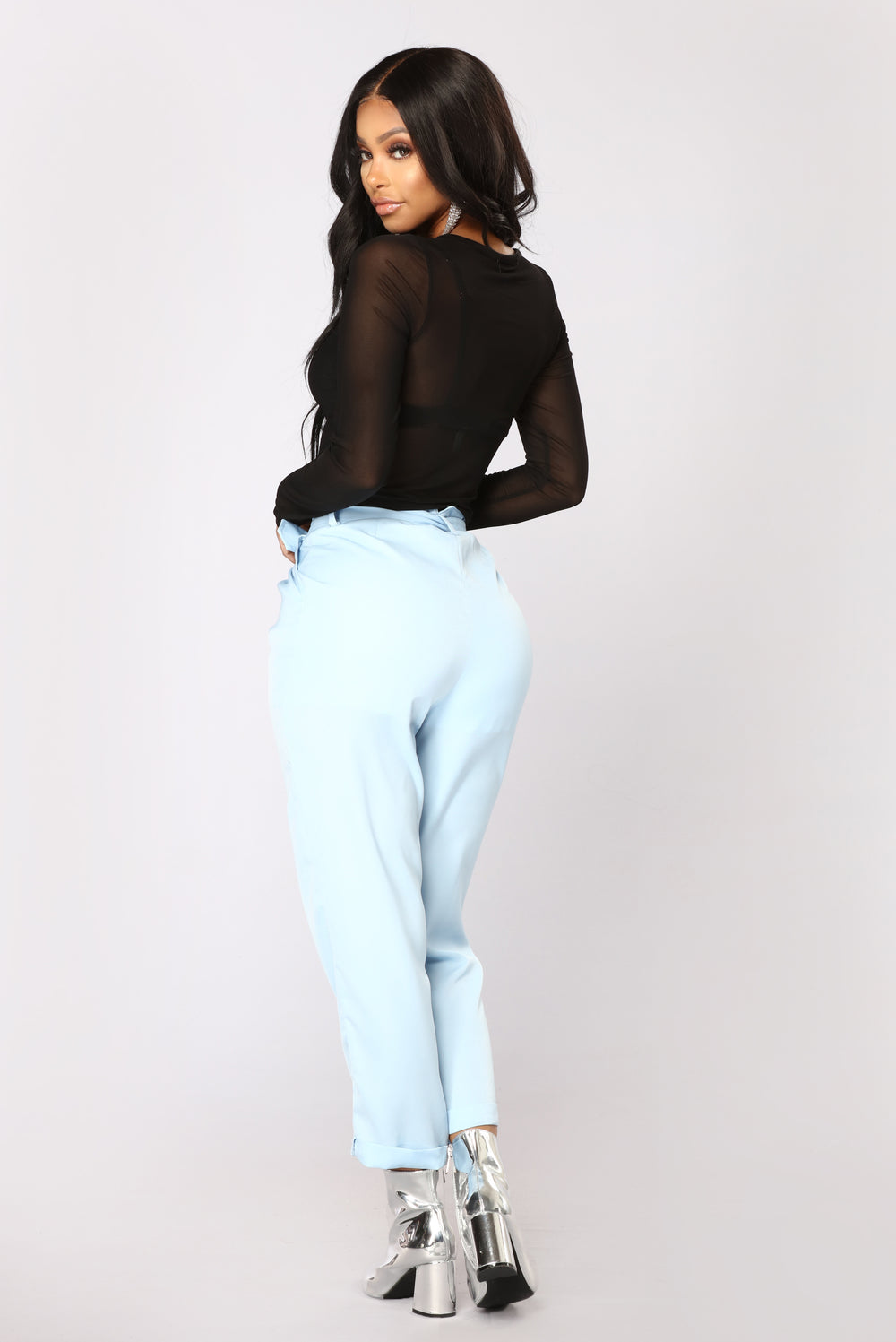 Casi Pants - Blue