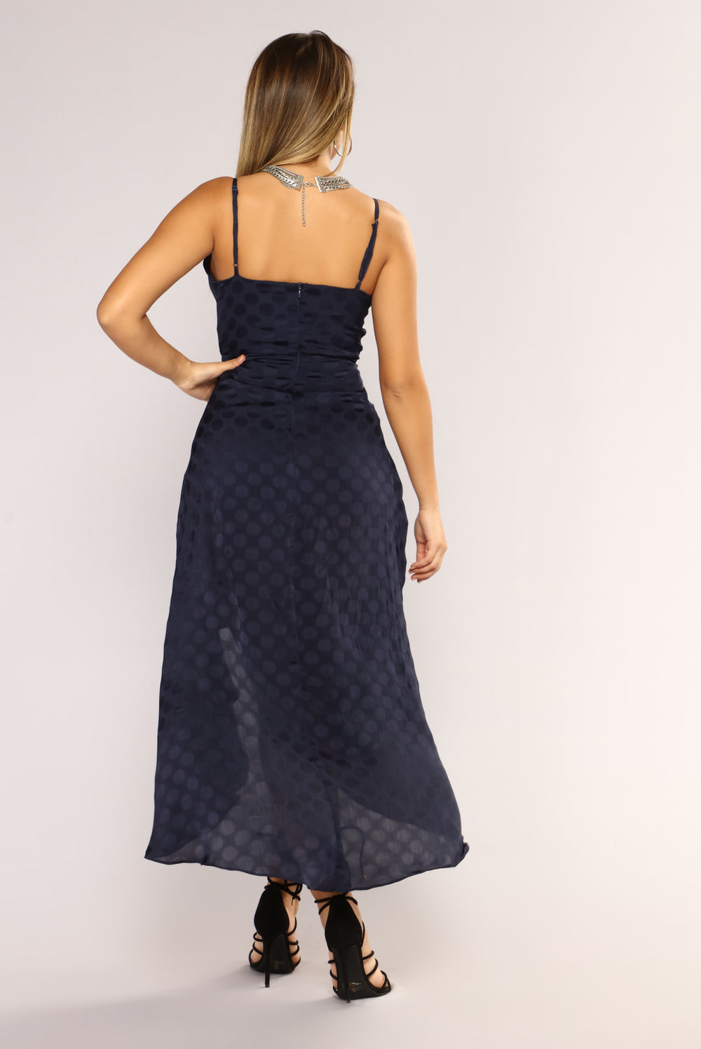 Pay Day Maxi Dress - Navy