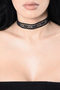 Taste Of It All Choker Set - Blush