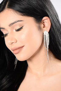 Do It Like Me Earrings - Silver