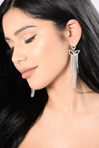 My Sweetheart Earrings - Silver