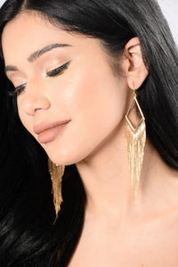 Trifecta Earrings - Gold