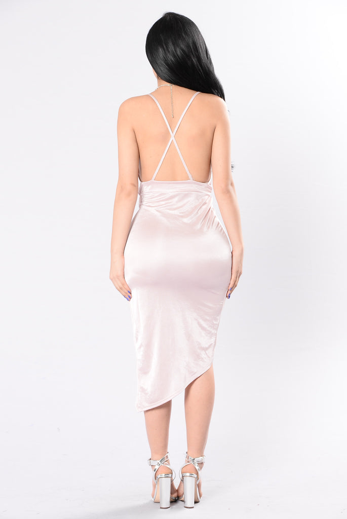 Do What I Want Dress - Blush