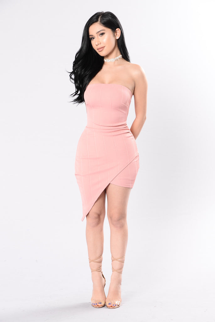 Agree To Disagree Dress - Pink