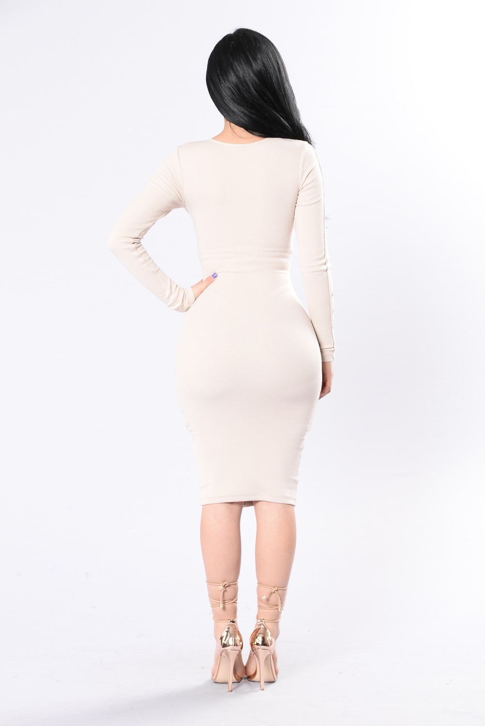Vintage Jams Dress - Taupe