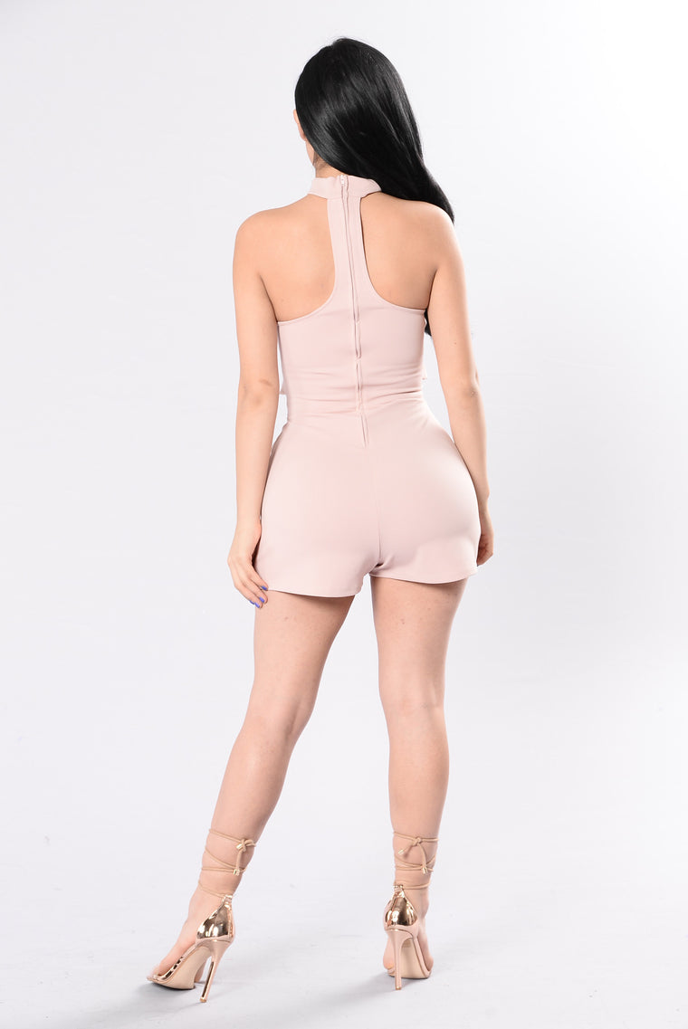 Only Hope Romper - Nude Rose
