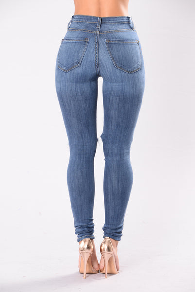 Rugged Dynasty Jeans - Medium Blue