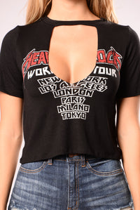 Rock Tour Tee - Black