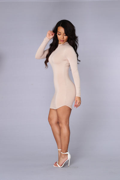 Beverly Hills Tunic - Nude